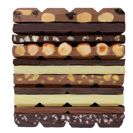 OP Chocolate Chocolate Tablets Stack Image